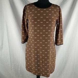 Ted Baker 3/4 Sleeve Dress Size 3